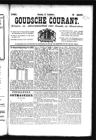 Goudsche Courant 1891-09-22