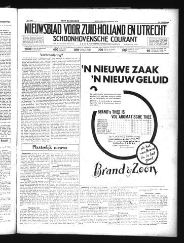 Schoonhovensche Courant 1934-08-22