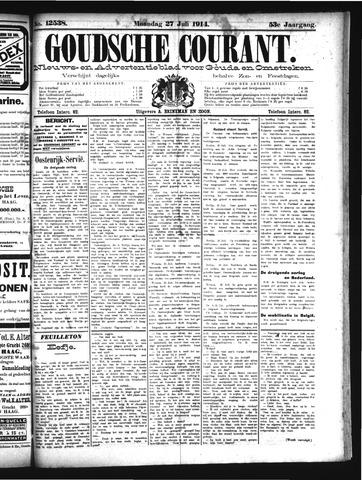 Goudsche Courant 1914-07-27