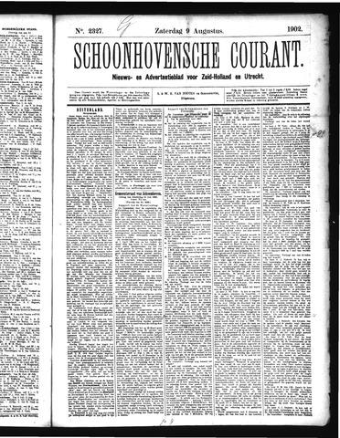 Schoonhovensche Courant 1902-08-09