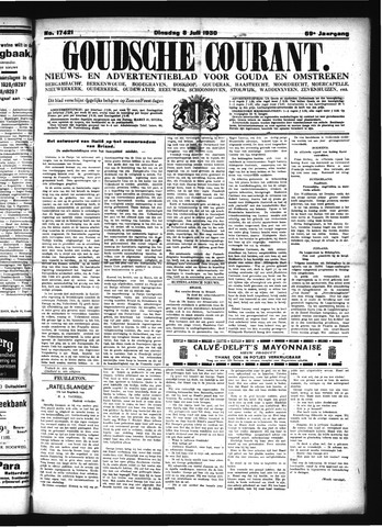 Goudsche Courant 1930-07-08