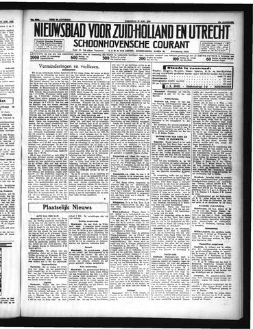 Schoonhovensche Courant 1935-06-19