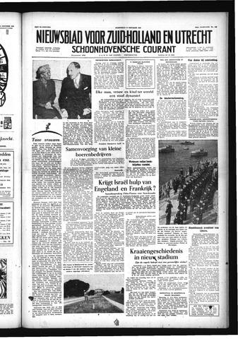 Schoonhovensche Courant 1956-10-17