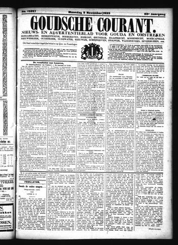 Goudsche Courant 1925-11-09