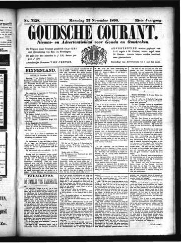 Goudsche Courant 1896-11-23