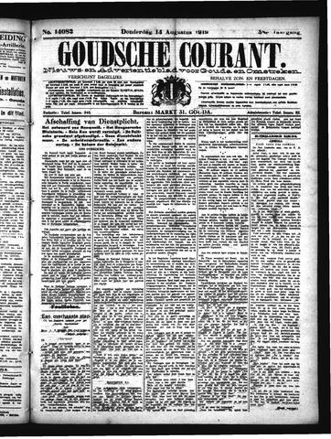 Goudsche Courant 1919-08-14
