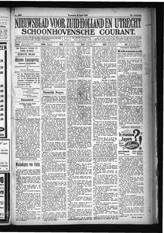 Schoonhovensche Courant 1929-04-10