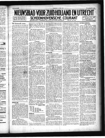Schoonhovensche Courant 1947-04-16