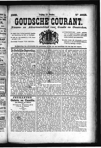 Goudsche Courant 1889-10-25