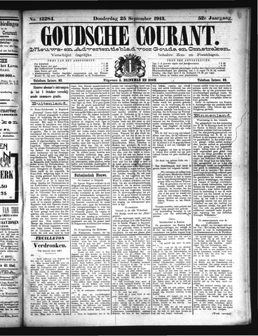 Goudsche Courant 1913-09-25