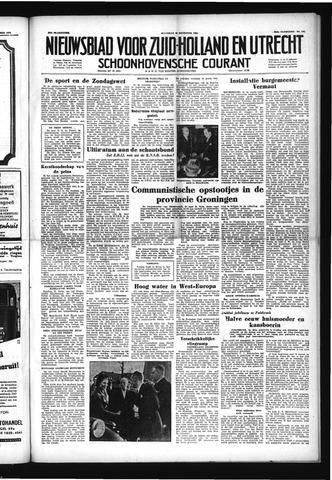 Schoonhovensche Courant 1952-12-22