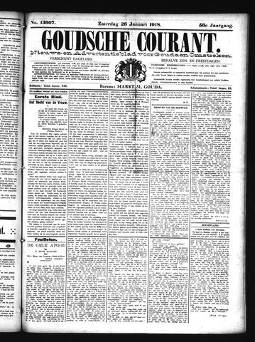 Goudsche Courant 1918-01-26