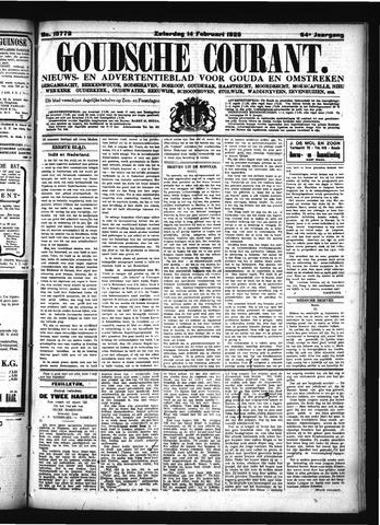Goudsche Courant 1925-02-14