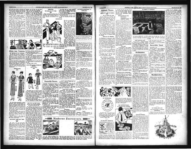 Schoonhovensche Courant 1933-07-30