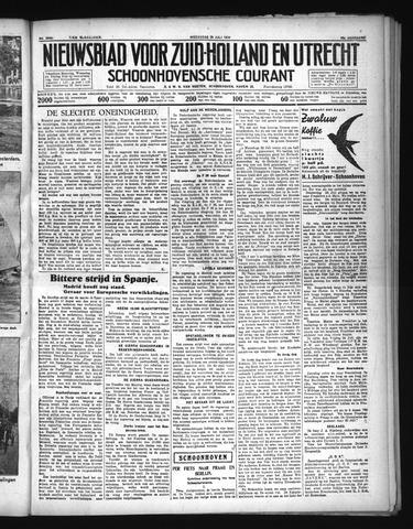 Schoonhovensche Courant 1936-07-29