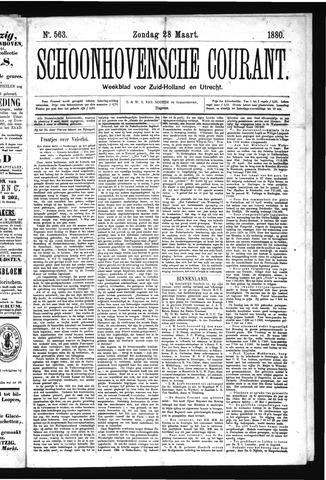Schoonhovensche Courant 1880-03-28