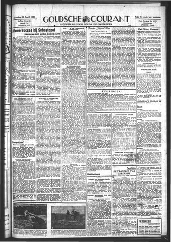 Goudsche Courant 1944-04-25