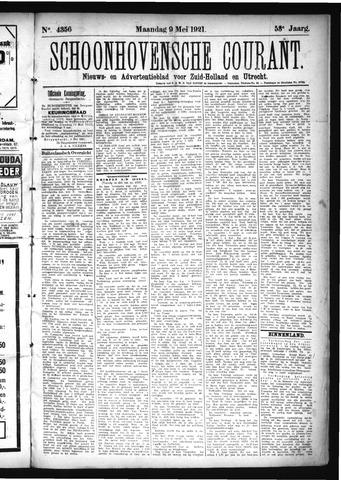 Schoonhovensche Courant 1921-05-09