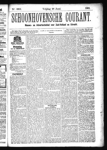 Schoonhovensche Courant 1901-06-28