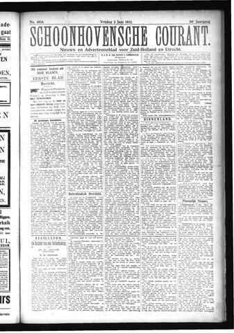 Schoonhovensche Courant 1922-06-02