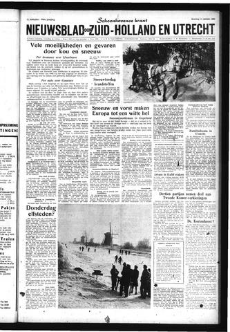 Schoonhovensche Courant 1963-01-14
