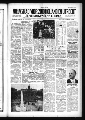 Schoonhovensche Courant 1958-05-05