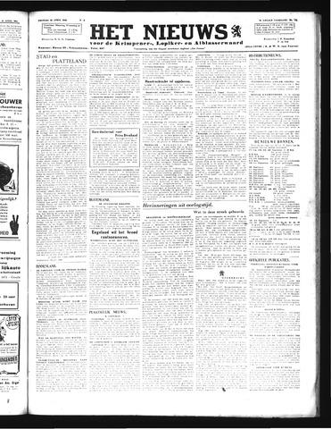 Schoonhovensche Courant 1946-04-12