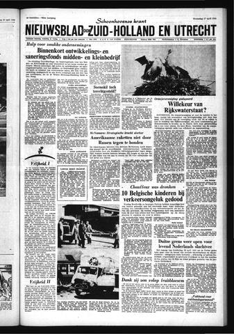 Schoonhovensche Courant 1966-04-27
