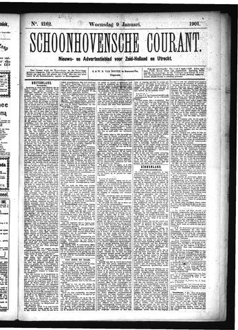Schoonhovensche Courant 1901-01-09