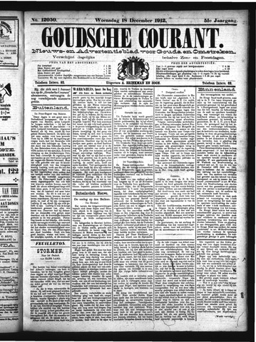 Goudsche Courant 1912-12-18