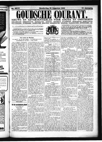 Goudsche Courant 1932-08-25