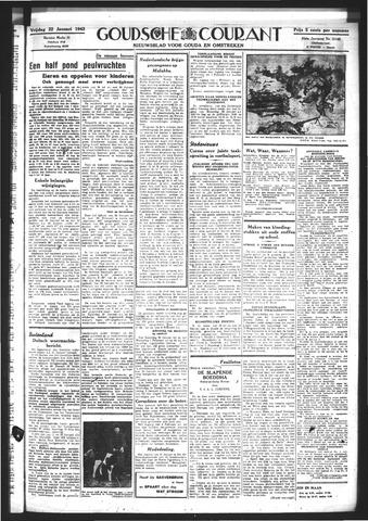 Goudsche Courant 1943-01-22