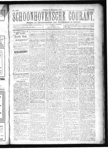 Schoonhovensche Courant 1921-12-23