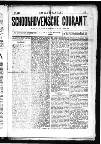 Schoonhovensche Courant 1878-01-13