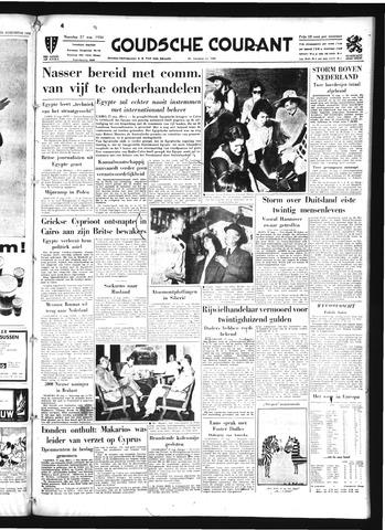 Goudsche Courant 1956-08-27