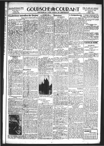 Goudsche Courant 1944-01-22