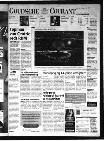 Goudsche Courant 2004-09-18