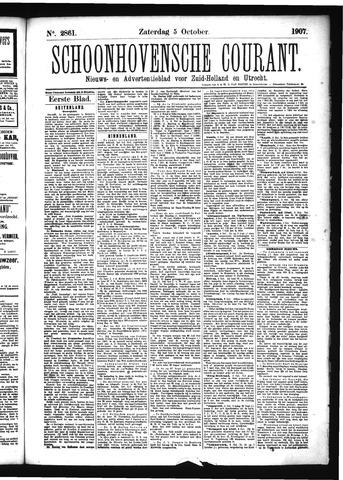 Schoonhovensche Courant 1907-10-05