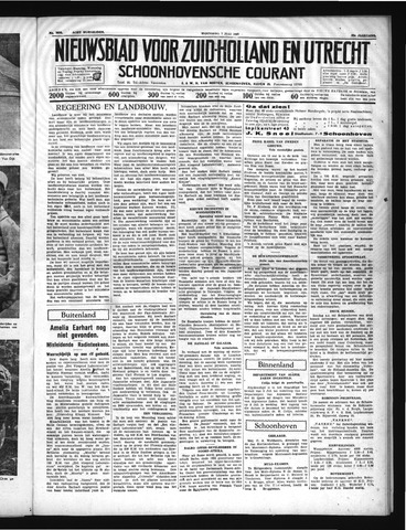 Schoonhovensche Courant 1937-07-07