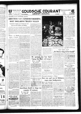 Goudsche Courant 1949-09-07