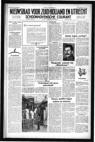 Schoonhovensche Courant 1952-09-22