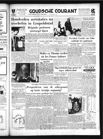 Goudsche Courant 1959-01-07