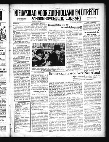 Schoonhovensche Courant 1949-03-02