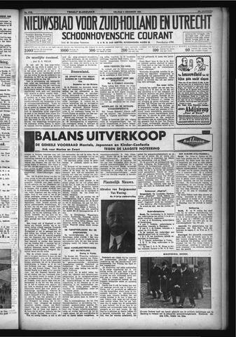 Schoonhovensche Courant 1932-12-09