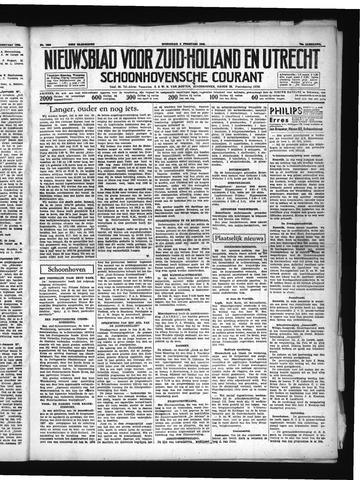 Schoonhovensche Courant 1938-02-09