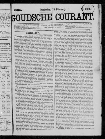 Goudsche Courant 1865-02-23