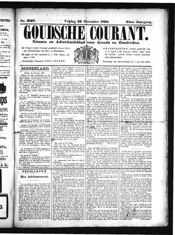 Goudsche Courant 1895-11-29