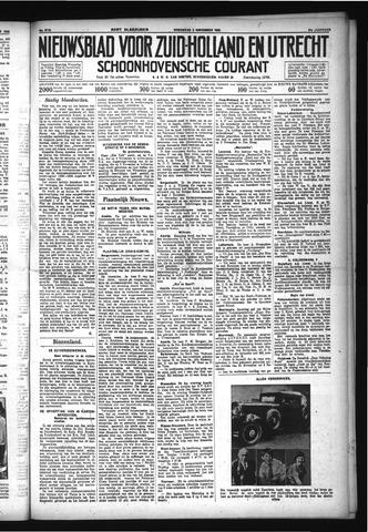 Schoonhovensche Courant 1932-11-02