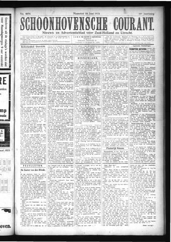Schoonhovensche Courant 1923-06-18