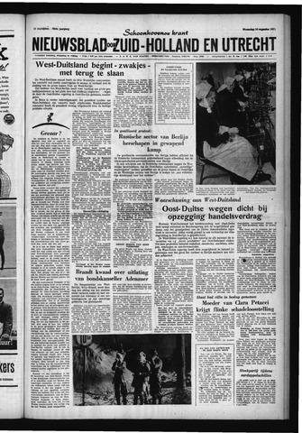 Schoonhovensche Courant 1961-08-16